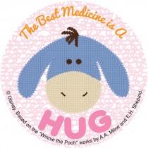Winnie the Pooh Best Medicine Sticker
