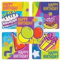 Birthday Celebration Stickers