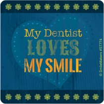 Dentist Love My Smile Stickers
