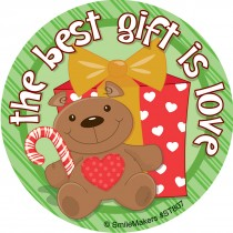 Best Gift is Love Stickers