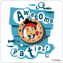 Jake and the Never Land Pirates Patient Stickers