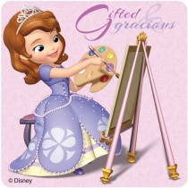 Sofia the First: The Royal Way Stickers