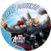 Avengers Patient Stickers