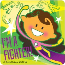 I'm A Fighter Stickers