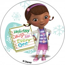 Doc McStuffins Christmas Stickers