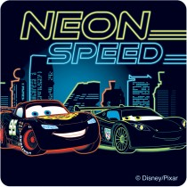 Glow in the Dark Disney*Pixar Cars: Neon Racers