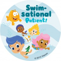 Bubble Guppies Patient Stickers