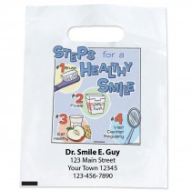 Custom Steps for a Healthy Smile Bags