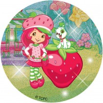 Glitter Strawberry Shortcake™Stickers