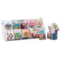10 Roll Sticker Rack