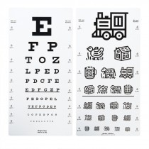 Wright Visual Acuity Chart:  Distance
