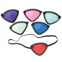 Junior Assorted Primary Color Eye Patches