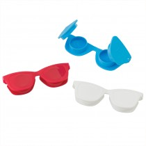 Assorted Sunglass Contact Lens Cases
