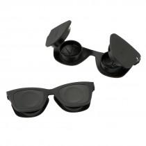 Black Sunglass Contact Lens Cases