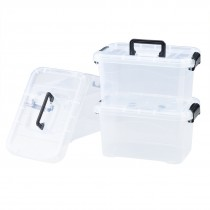 Large Locking Storage Bins with Lids