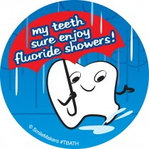 Tooth Shower Stickers