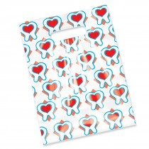 Scatter Heart in Teeth Bags