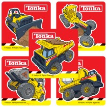 Tonka Truck Sticker Assortment