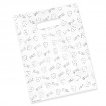 Large Tooth Scatter Print Bags