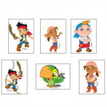 Jake and the Never Land Pirates Temporary Tattoos