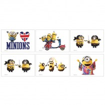 Minions Temporary Tattoos