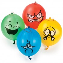 Funny Face Punching Balloons