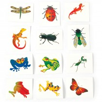 Reptile and Insect Temporary Tattoos