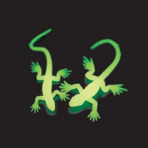 Glow in the Dark Mini Lizards