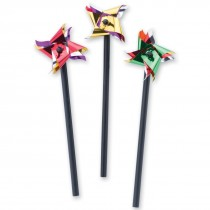 Mini Metallic Pinwheels