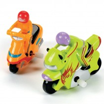 Wind-Up Stunt Motorcycles