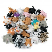 Assorted Plush Animals