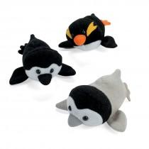 Assorted Plush Penguins