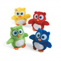 Plush Colorful Owls