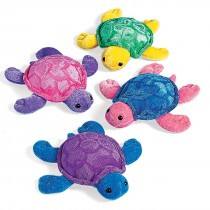 Plush Neon Sea Turtles