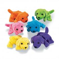 Neon Plush Dogs