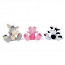Plush Large Feet Animals