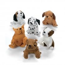 Cuddly Plush Dogs