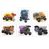 Monster Jam Temporary Tattoos