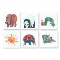 Eric Carle Temporary Tattoos