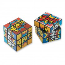 Superhero Puzzle Cubes