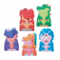 Dino Puffy Finger Puppets