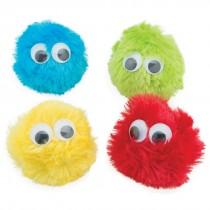 Plush Google Eye Hairballs