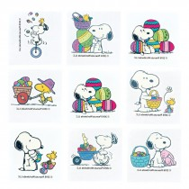Peanuts Easter Temporary Tattoos