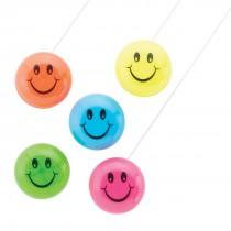 Mini Smiley Face Yo-Yos