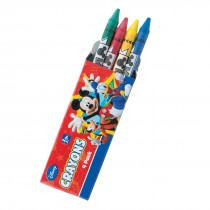 Mickey and Friends 4-Pack Crayons