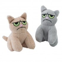 Plush Cranky Cats