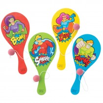 Superhero Paddleball Games