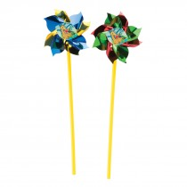 Jungle Friends Pinwheels