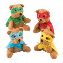 Superhero Plush Bears