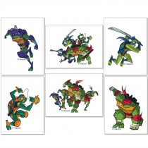 Rise of the Teenage Mutant Ninja Turtles Tattoos